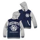 Deez Nuts - DN (Heather/Navy) (Varsity Jacket) [入荷予約商品]