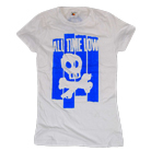 All Time Low - Blue Skull [girl's] [入荷予約商品]