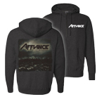 Affiance - Blackout (Charcoal) (Zip Up Hoodie) [入荷予約商品]
