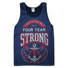 Four Year Strong - Anchor (Navy) (Tank Top) [入荷予約商品]