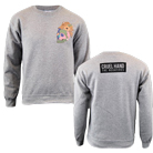 Cruel Hand - Floral Skull (Heather Grey) (Sweat) [入荷予約商品]