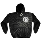 We Are The In Crowd - Skull Kid Spider (Black Tie Dye) (Hoodie) [入荷予約商品]