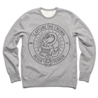 Capture the Crown - Skull Snake (Heather Grey) (Sweat) [入荷予約商品]