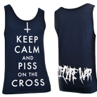 I Declare War - Keep Calm (Navy Blue) (Tank Top) [入荷予約商品]