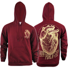 Front Porch Step - Heart (Maroon) (Hoodie) [入荷予約商品]