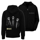 Hail The Sun - Wake Album Art (Zip Up Hoodie) [入荷予約商品]