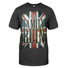 The Family Ruin - Union Jack (Coal Grey) [入荷予約商品]