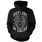 Outline In Color - Skull (Hoodie) [入荷予約商品]