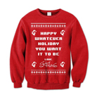 Stolas - Happy Whatever Holiday (Red) (Sweat) [入荷予約商品]