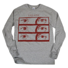Villains - Drug Eyes (Heather Grey) (Long Sleeve) [入荷予約商品]