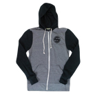 Starset - Logo (Black/Heather) (Zip Up Hoodie) [入荷予約商品]