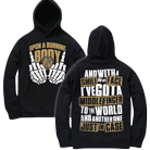 Upon A Burning Body - Middle Fingers (Hoodie) [入荷予約商品]