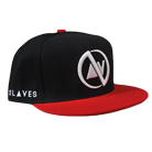 Slaves - Symbol (Black/Red) (Snapback) [入荷予約商品]