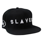 Slaves - Logo (Black) (Snapback) [入荷予約商品]