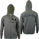 Miss Fortune - M Varsity (Heather Grey) (Zip Up Hoodie) [入荷予約商品]