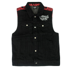 Motionless In White - Logo Studded (Denim Vest) [入荷予約商品]