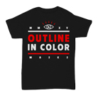 Outline In Color - Masks (Black) [入荷予約商品]