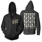 The Bunny The Bear - Checkered (Zip Up Hoodie) [入荷予約商品]