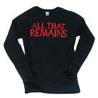 All That Remains - Red Logo (Long Sleeve) [入荷予約商品]