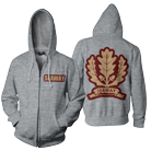 Seaway - Oak Leaf (Heather Grey) (Zip Up Hoodie) [入荷予約商品]