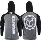 Yellowcard - Logo (Black/Charcoal) (Zip Up Hoodie) [入荷予約商品]