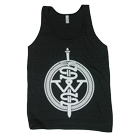 Sleeping With Sirens - Sword Crest (Heather Black) (Tank Top) [入荷予約商品]