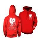 Funeral Co. - Dead Heart (Red) (Hoodie) [入荷予約商品]