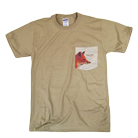 Emarosa - Fox Pocket Print (Khaki) (Pocket) [入荷予約商品]