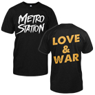 Metro Station - Love & War [入荷予約商品]