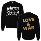 Metro Station - Love & War (Sweat) [入荷予約商品]