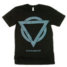 Enter Shikari - Blue Logo (Heather Black) [入荷予約商品]