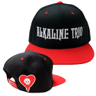 Alkaline Trio - Logo (Black/Red) (Snapback) [入荷予約商品]
