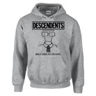 Descendents - Milo Goes To College (Grey) (Hoodie) [入荷予約商品]