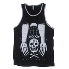 Iwrestledabearonce - Skull Hands (Tank Top) [入荷予約商品]