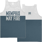Memphis May Fire - Logo (Two Tone) (Tank Top) [入荷予約商品]