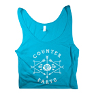 Counterparts - Arrow Logo (Blue) (Crop Top) [girl's] [入荷予約商品]