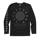 Northlane - Gravity (Black) (Long Sleeve) [入荷予約商品]