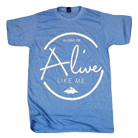 Alive Like Me - Mountain (Heather Athletic Blue) [入荷予約商品]