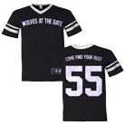 Wolves At The Gate - Come Find Your Rest (Black/White) (Baseball Jersey) [入荷予約商品]