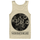 Wolves At The Gate - Floral (Natural) (Tank Top) [入荷予約商品]