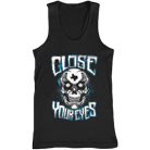 Close Your Eyes - Texas Skull (Tank Top) [入荷予約商品]