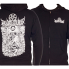 Thy Art Is Murder - Death Born (Zip Up Hoodie) [入荷予約商品]