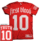 First Blood - Ten Years of Truth (Red) [入荷予約商品]