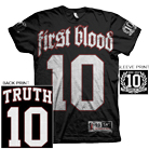First Blood - Ten Years of Truth (Black) [入荷予約商品]