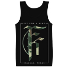 Fit For A King - Camo Icon (Tank Top) [入荷予約商品]