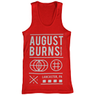 August Burns Red - Shapes (Red) (Tank Top) [入荷予約商品]