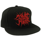Thy Art Is Murder - Grind Logo (Red/Black) (Snapback) [入荷予約商品]