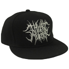 Thy Art Is Murder - Grind Logo (White/Black) (Snapback) [入荷予約商品]