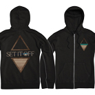 Set It Off - Unplugged (Zip Up Hoodie) [入荷予約商品]