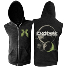 Exotype - Planets (Dark Heather) (Sleeveless Zip Up Hoodie) [入荷予約商品]